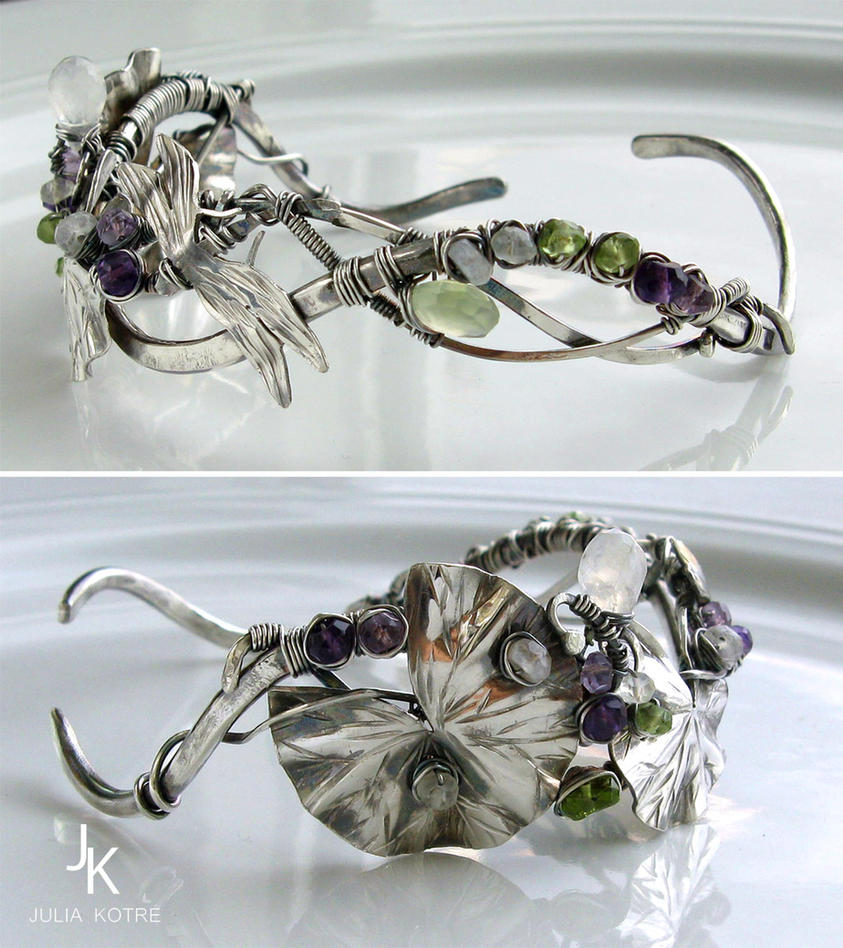 Bracelet Quiet pond II by JSjewelry