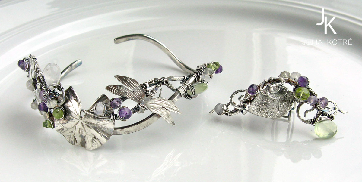 Set of a Bracelet And Cuff by JSjewelry