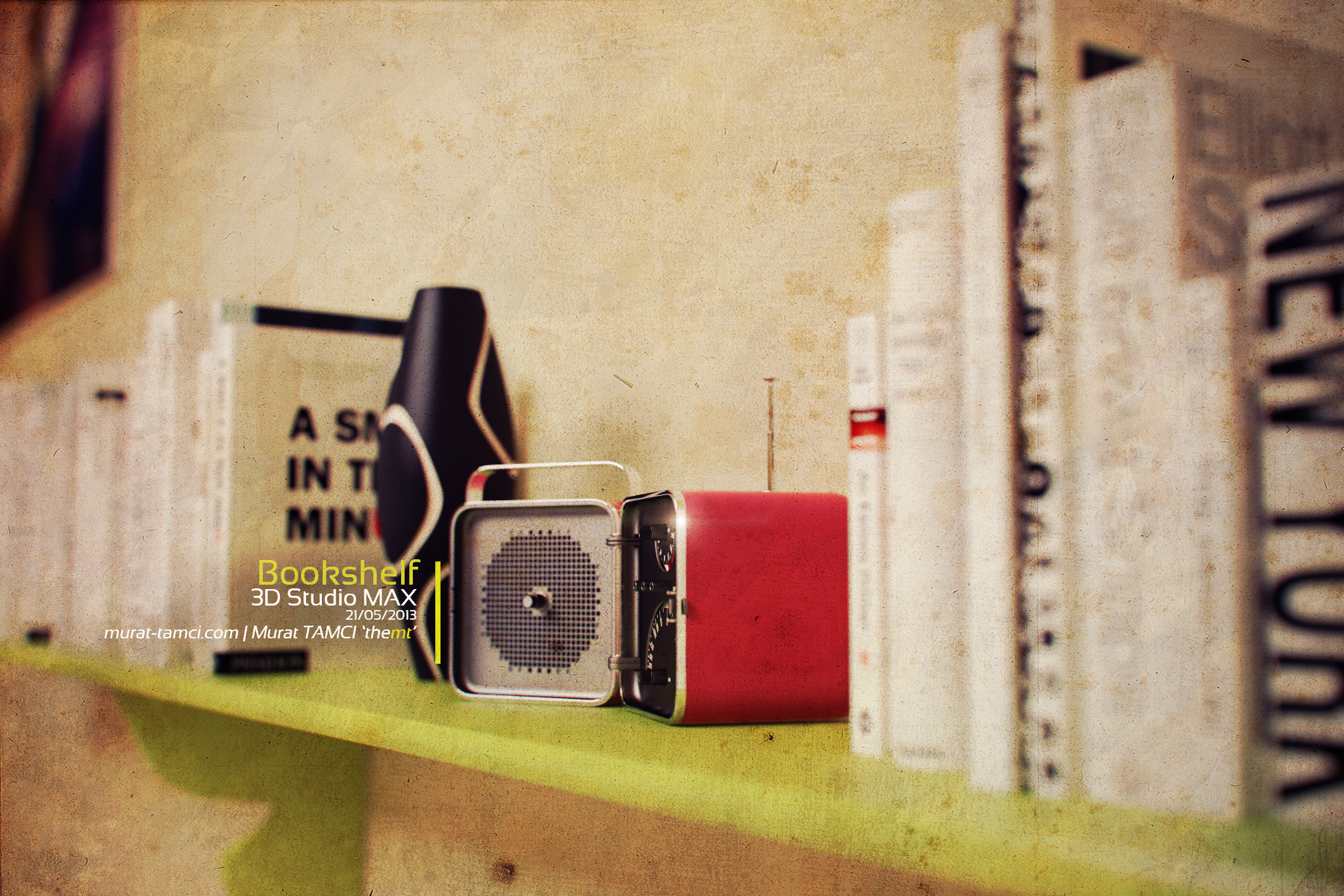 Bookshelf by themt