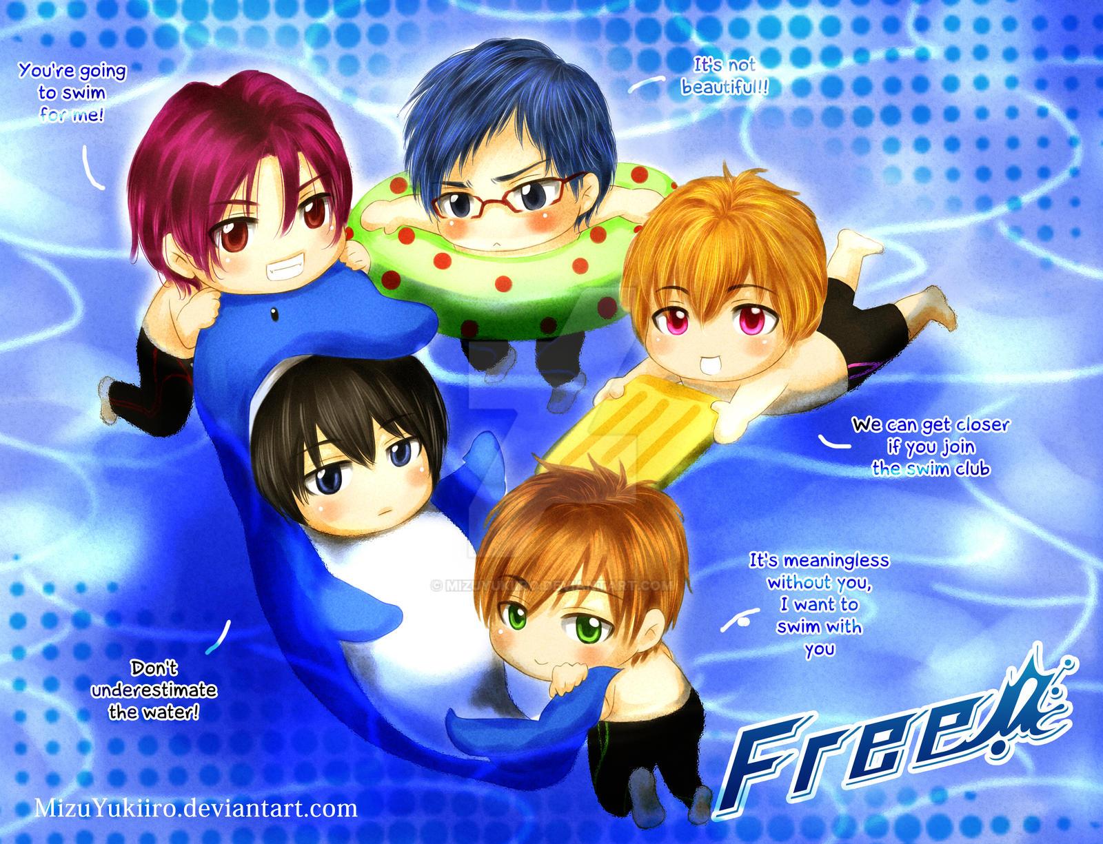 Free! Iwatobi Swim Club Join Us! by MizuYuKiiro