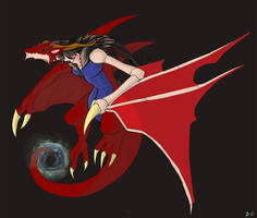 Ryougi Dragon by DeadlyObsession