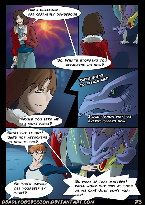 Maybe it was Fated #23 by DeadlyObsession