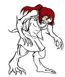 BG2 Kindra Cruspire doodle by DeadlyObsession