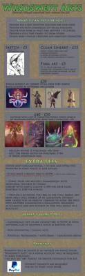 Commission Price Sheet - 2020