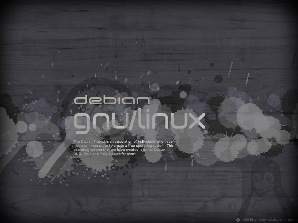 Debian GNU_Linux by cagwait