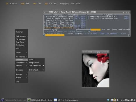 debian testing openbox