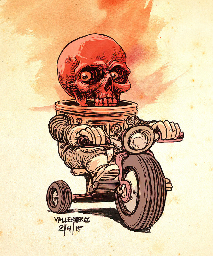Red Skull low by bawayan