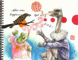 The Odd Ostrich by bawayan