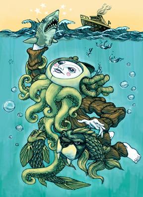 Poseidon by bawayan