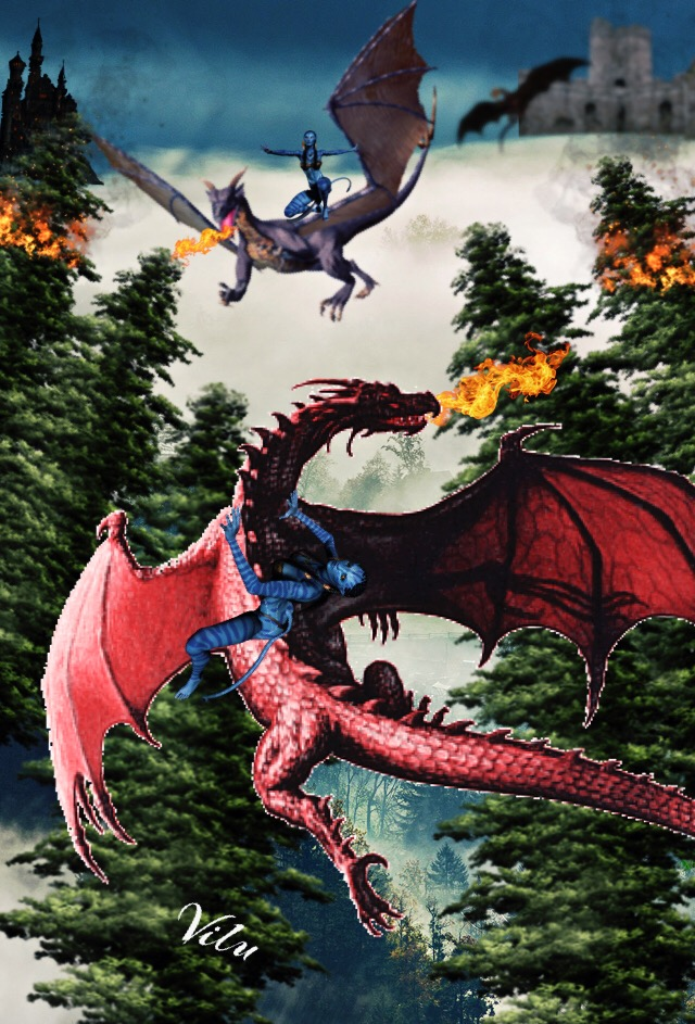 War of the Dragons by vilucm