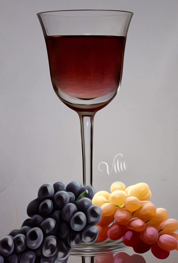 Red wine by vilucm