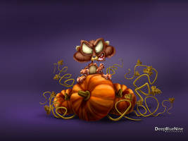 Evil Hamster by DeepBlueNine