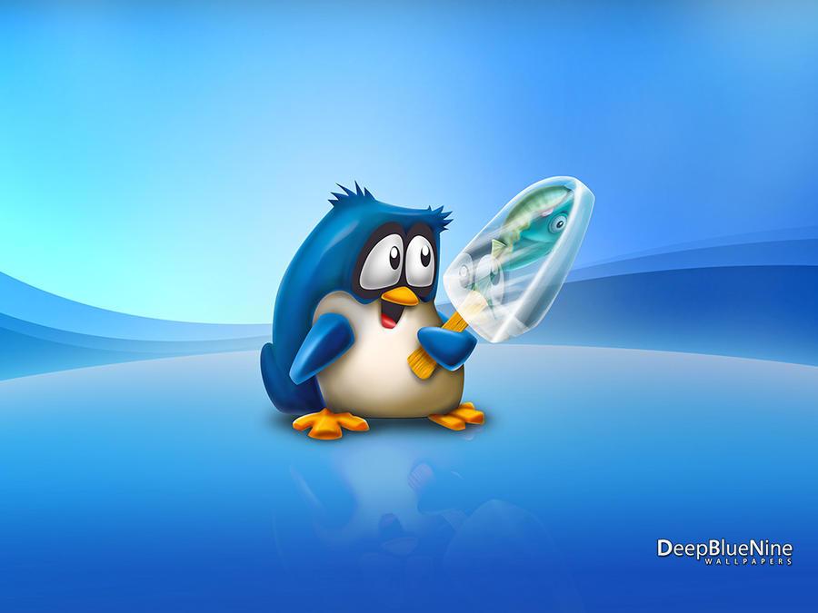 Penguins Love Ice Cream By DeepBlueNine