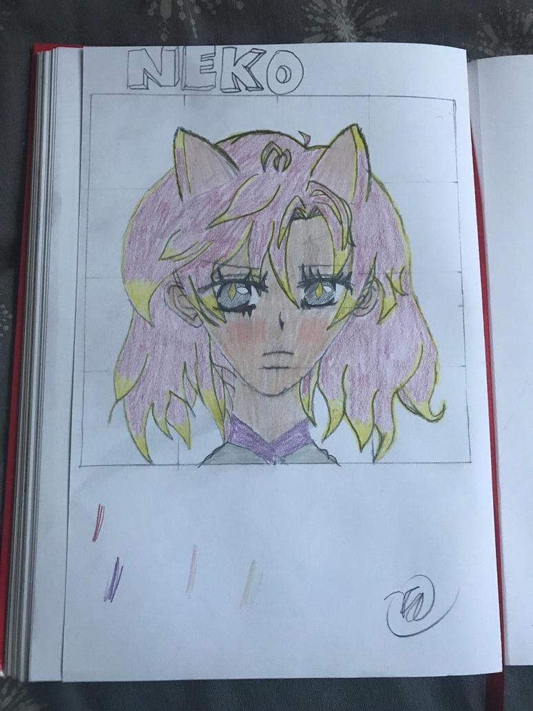 Catgirl practice  by GamingBuddha