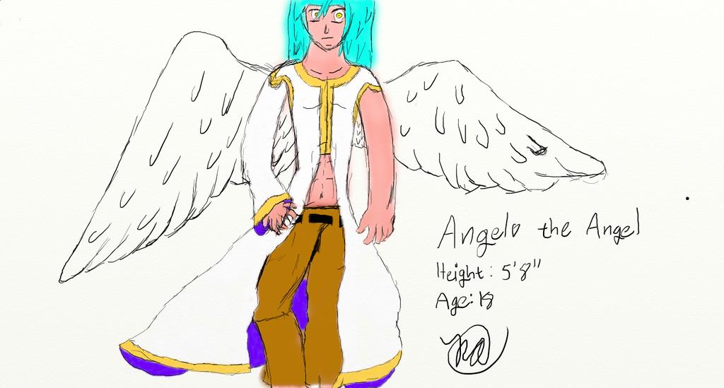 AngeloTheAngel by GamingBuddha