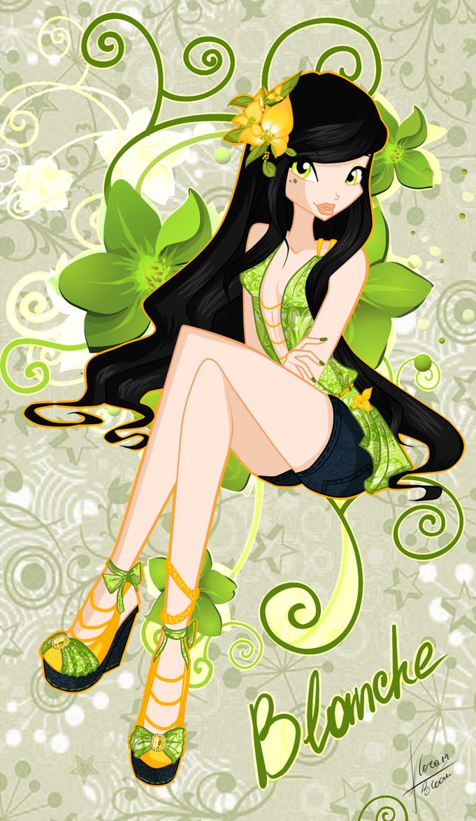 C: Blanche Tropical by florainbloom