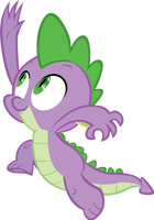Spike by RyantheBrony