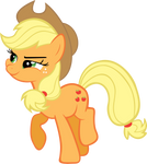 Applejack Eating an Apple