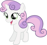 Cheerful Sweetie Belle