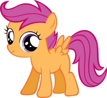 Simply Scootaloo by RyantheBrony