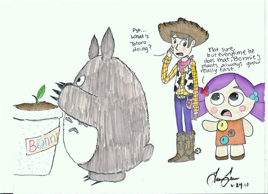 Toy Story 3 Totoro By Animie959 On Deviantart