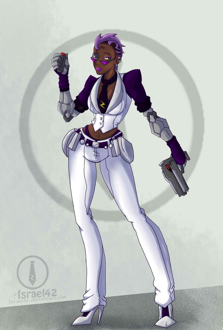 Skullgirls OC: Zora white by Israel42