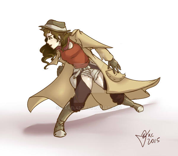 Cowgirl finals by Israel42