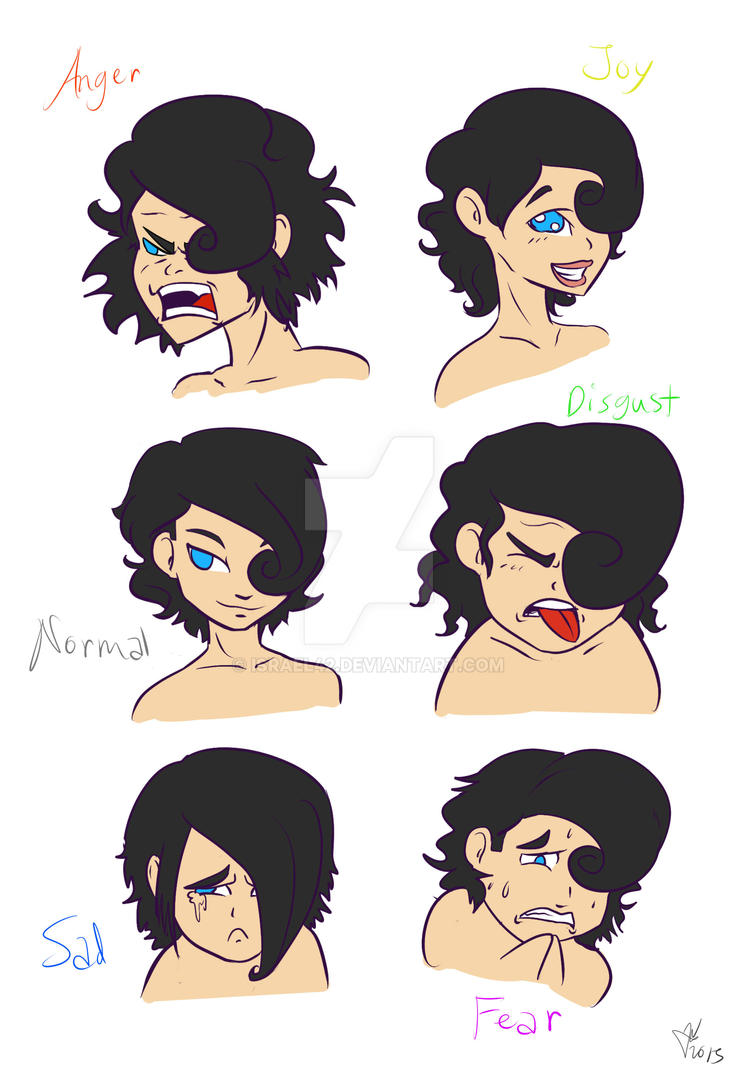 OC: Lucky's Expressions by Israel42
