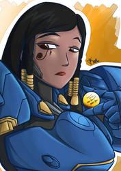Overwatch : Pharah by Israel42