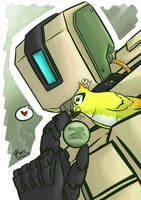 Overwatch: Bastion by Israel42