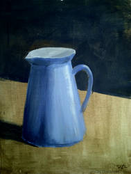 Blue Pitcher-Limited Pallete Exercise