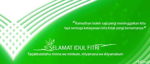 Selamat Idul Fitri by musthaf9