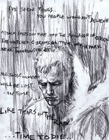 Roy Batty, Blade Runner by justbuzz