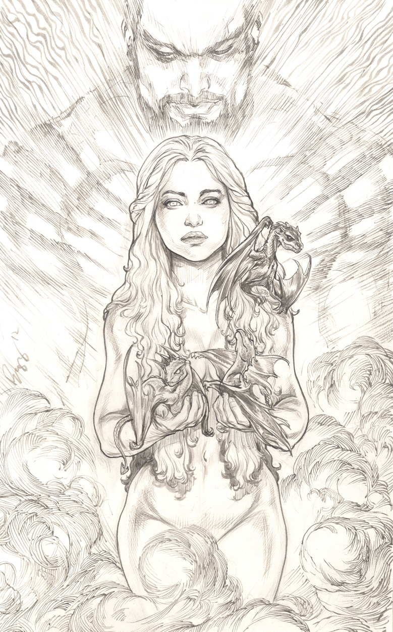 game of thrones coloring pages khaleesi - photo #3