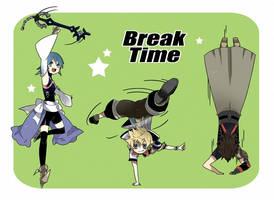 KH BBS : Break Time! by AeroxVentusxYuni