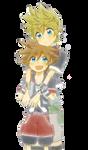 Ventus and Sora Render
