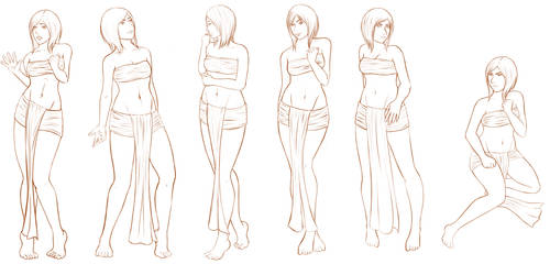 Body Language/Poses and Facial Expressions