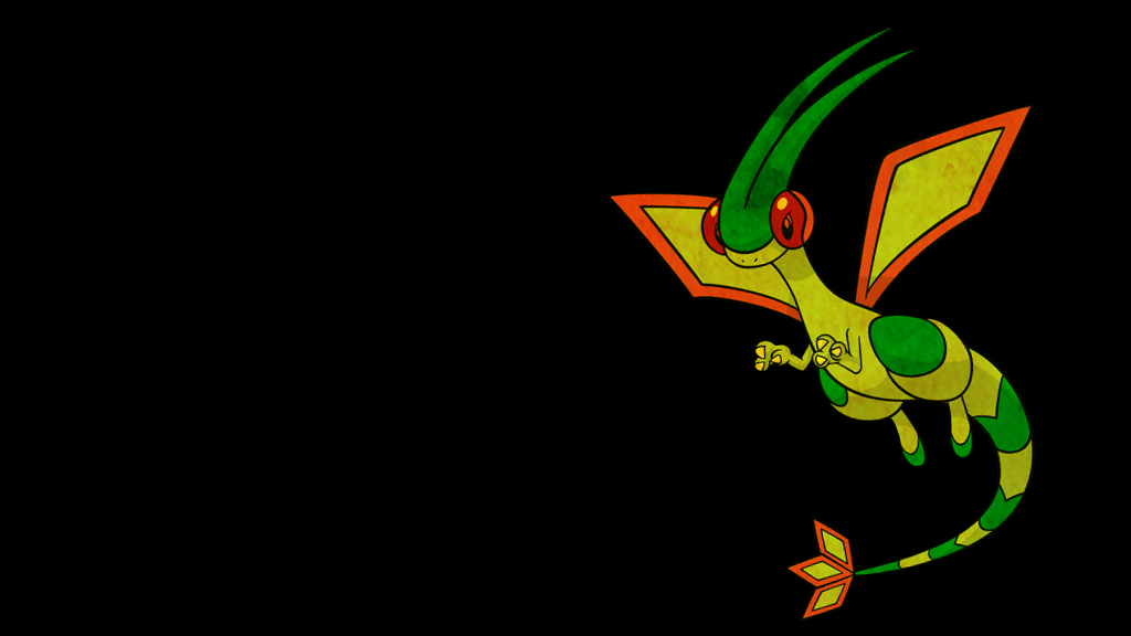 . Pokemon Wallpaper . Flygon . by Flows-Backgrounds on ...