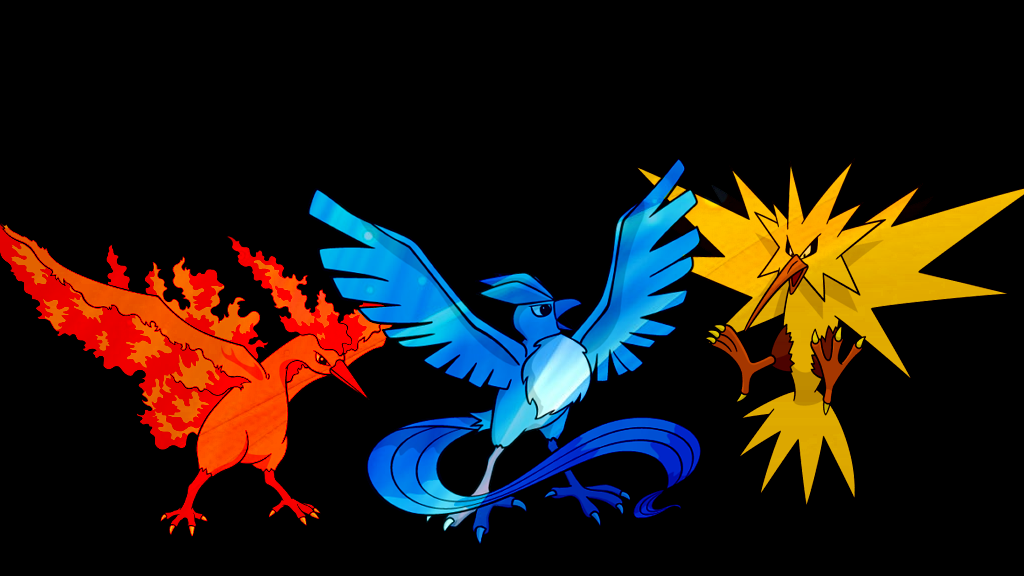 . Pokemon Wallpaper . The Three Birds . by Flows ...