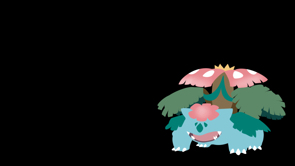 Pokemon Wallpaper Mega Venusaur By Flows Backgrounds