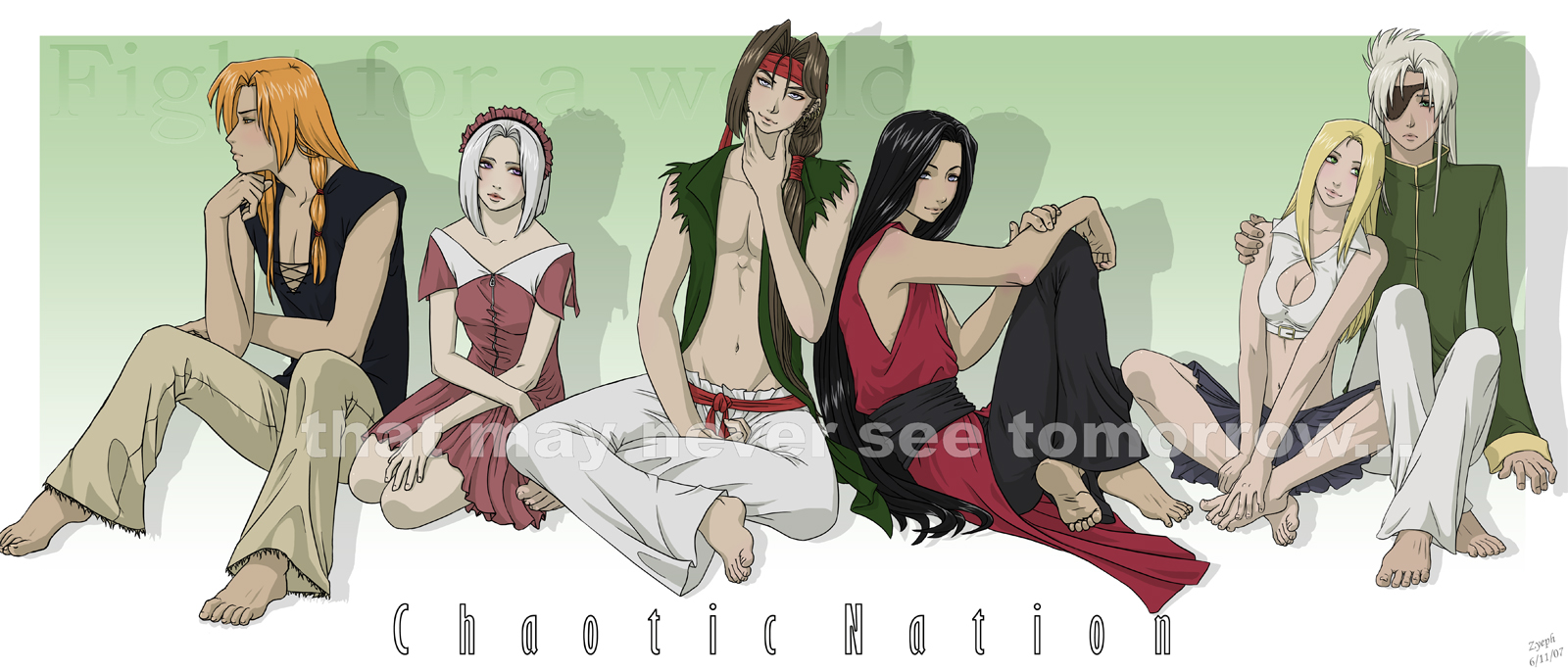 Anime Characters Born On February 7 : Chaotic nation characters by zyephens insanity on deviantart