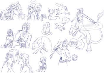 Livestream doodles 6 by Zyephens-Insanity