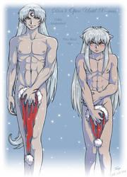 Inu Sess Merry Christmas by Zyephens-Insanity