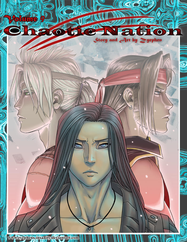 Chaotic Nation Ch9 Cover by Zyephens-Insanity