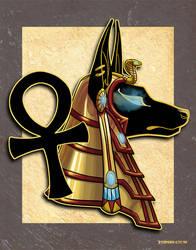 Anubis Bust