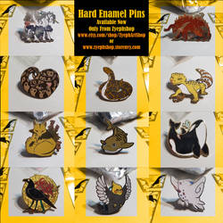 Finished Pins Batch 1
