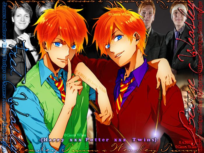 My Weasley Twins by cierra-nighttiger089