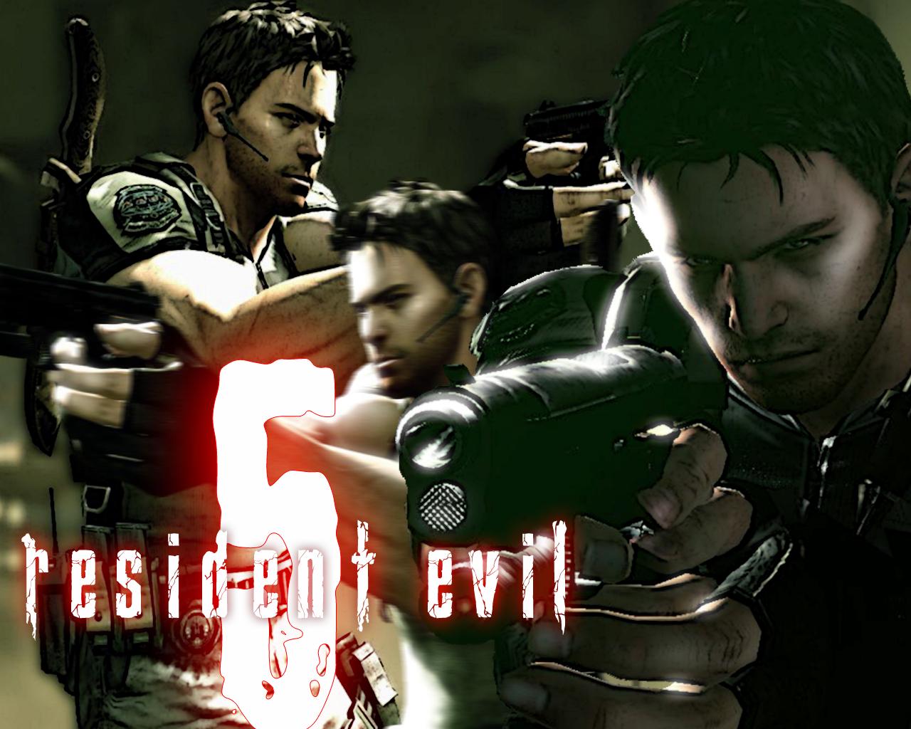 Resident Evil 5 Chris Redfield By Omni Dante On Deviantart