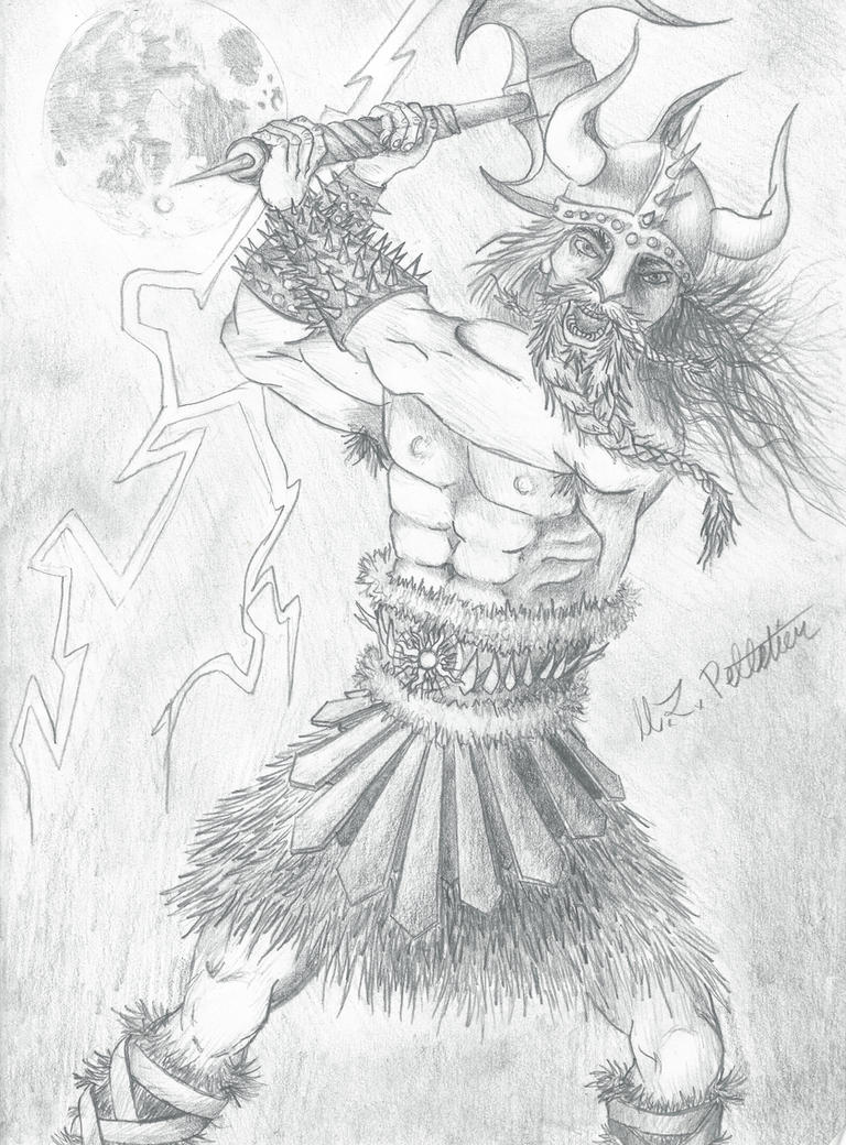 Viking Lord by sticksnstones89