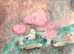 Amanita Mushroom Practice